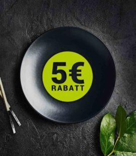 Sushideluxe - 5 Euro Rabatt
