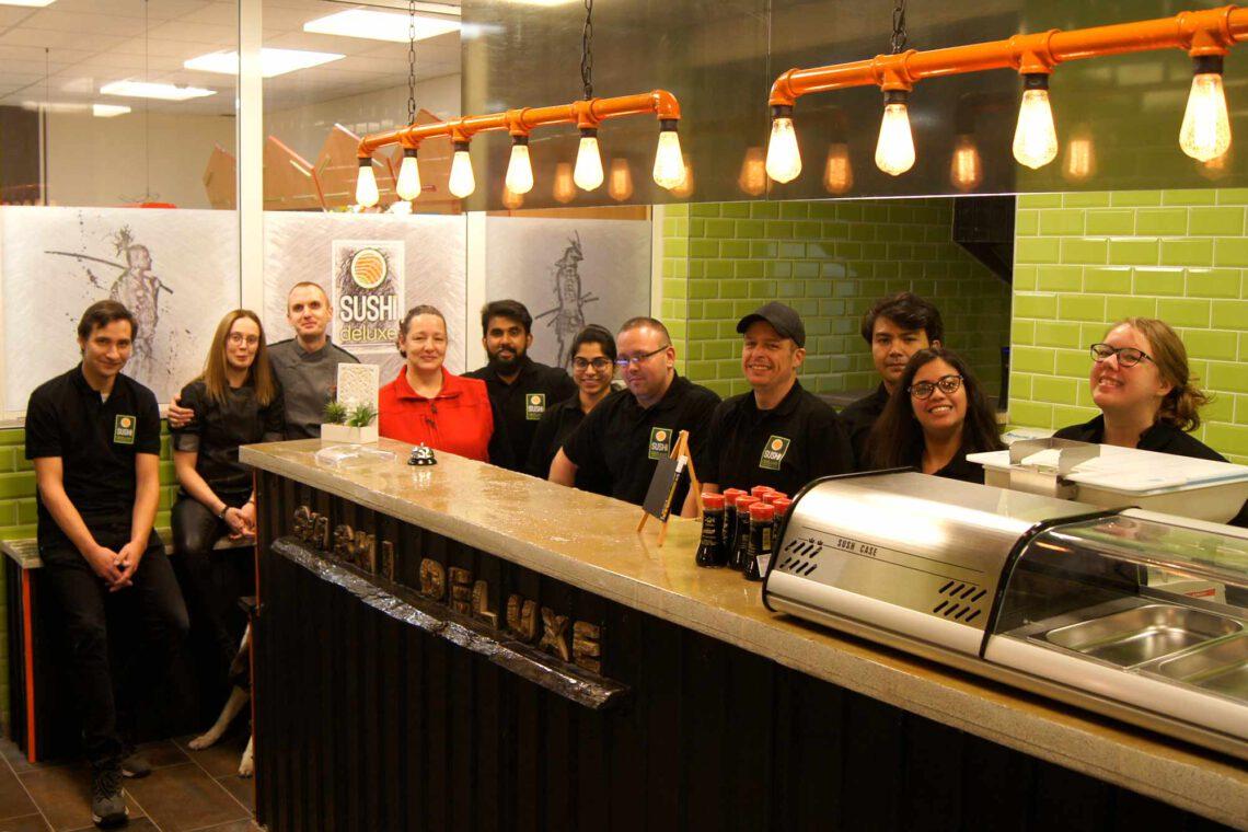 Das SUSHIdeluxe Team in Chemnitz