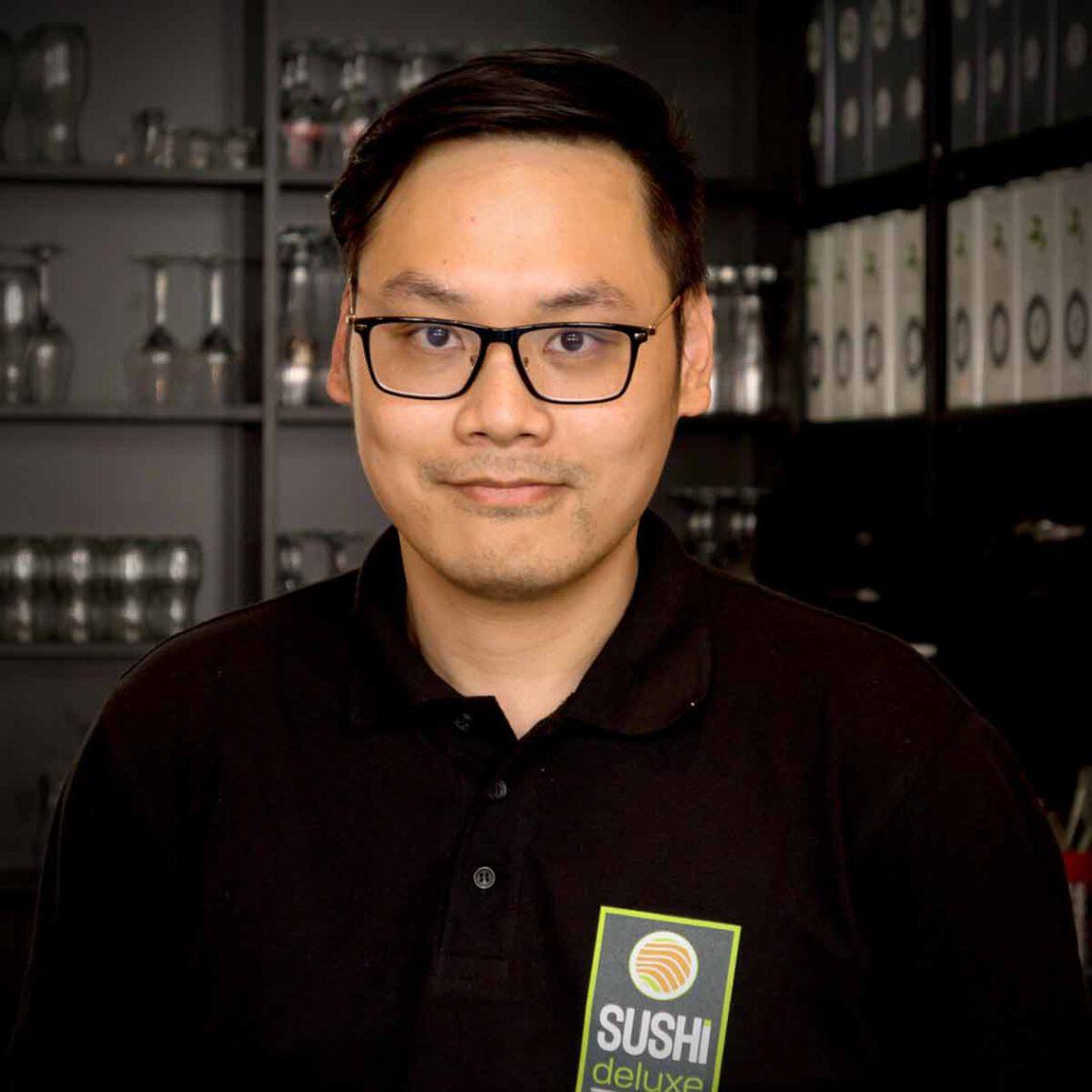 Duy Hoang, Sushi-Meister und Küchenchef