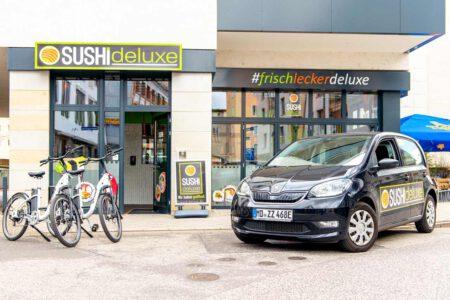 SUSHIdeluxe | Vollelektrische Lieferfahrzeuge